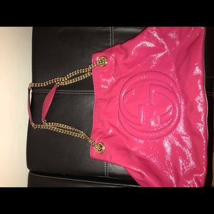 Pink Gucci purse